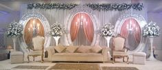 Head stage for walima. Wedding reception decor. desi wedding