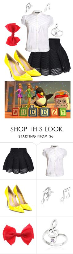 """""""Toy Story: Wheezy"""" by janastasiagg ❤ liked on Polyvore featuring Pilot, Gianvito Rossi, Bling Jewelry, Journee Collection, disney and disneybound"""