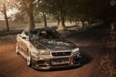 R34 Nissan Skyline GTR