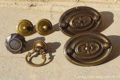 Antique drawer pulls and knobs perfect for your by Corkycrafts, $12.00