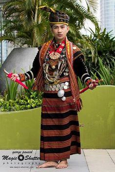 Salvystian Anderson MR FAVORITE BHF 2014 Photo credit:MAGIC SHUTTER Subsidiary Title@Borneo Hornbill Festival 2014