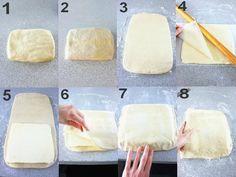 Etapes pâte 1