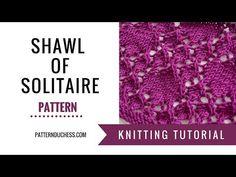 Shawl of Solitaire pattern   Pattern Duchess