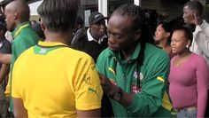 Riotous Welcome for Bafana in Cape Town