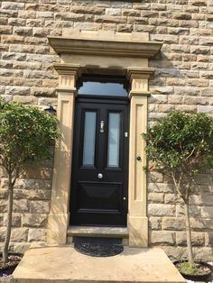 4 Panel, Half Glazed, Victorian Style Front Door From Cheshire Joinery Ltd