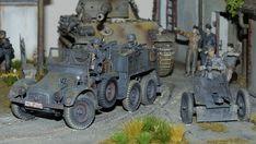"Krupp Protze ""Kfz.69 Zugwagen für 3,7-cm-PaK 36"" Scale Models, Modeling, Miniatures, Dioramas, Model Building, Modeling Photography, Fashion Models, Mockup"