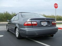 My Coupie (Ms. Eh3) Tags: honda civic 1995 coupe hondacivic ej1 hgm