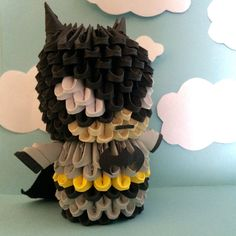 Mighty 3D Origami Batman by OlygamiCrafts on Etsy