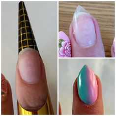 Very useful tools in your nail art design! >>http://mroofa.blogspot.com/2015/07/gradient-ombre-hybrid-nails.html