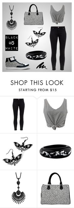 """Black & White"" Women outfit set by @savousepate on Polyvore"