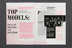 Interesting editorial design. Festivais GIL VICENTE 2012 by Atelier Martinoña , via Behance