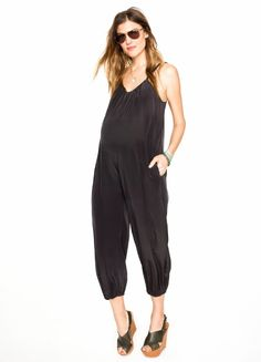 95a43332a648 Hatch Maternity Jumpsuit got us through our pregnancies elegantly! Perfect  for nursing post baby too