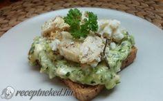 Cukkinis-camembertes szendvicskrém recept fotóval