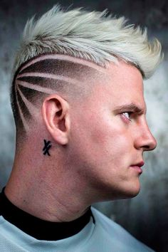 Looking for haircut designs ideas to give your hair a fresh and stylish touch? We've collected the best undercut hairstyles with the tattoo design for guys with short to long hair, with any face shape, of any age and who follow any mens fashion style. #menshaircuts #menshairstyles #haircutdesign #haircutdesigns #undercutdesign #hairdesign Trendy Mens Haircuts, Popular Mens Hairstyles, Cool Haircuts, Cool Hairstyles, Creative Haircuts, Modern Haircuts, Short Haircuts, Hair Tattoo Designs, Cool Hair Designs