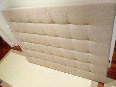 DIY: cómo hacer un cabecero con capitoné. | Decoración Ideas Para, Diy Ideas, Decoration, Floor Chair, Mattress, Room Decor, Pillows, Bedroom, Furniture