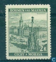 Timbres-poste - Bohême et Moravie - Bâtiments Castles, Stamps