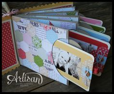 Stampin' Up: Mother's Day Mini Album by Artisan Design Team 2012-2013 member Erica Cerwin