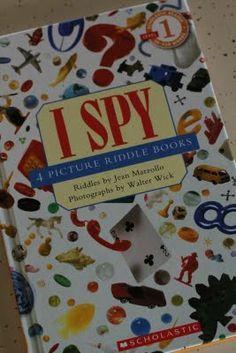 Who read I Spy books in school?! #90s kid