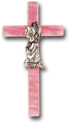 Gift Bag Baby Girls Sparkly Silver Cross Christening Baptism Shoe Goddaughter Keepsake