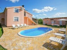Villa Angelina Kastelir Villa Angelina is a villa with a seasonal outdoor pool, situated in Labinci. Guests benefit from patio.  A dishwasher, an oven and a microwave can be found in the kitchen and there is a private bathroom. A TV is offered.