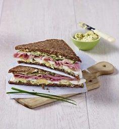 Das Rezept für Herzhaftes Schlank-Sandwich und weitere kostenlose Rezepte auf LECKER.de