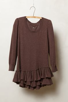 Tiered & Ruffled Sweater - anthropologie.com