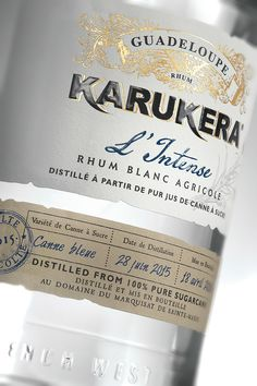 Rhum KARUKERA - L'intense on Packaging of the World - Creative Package Design Gallery