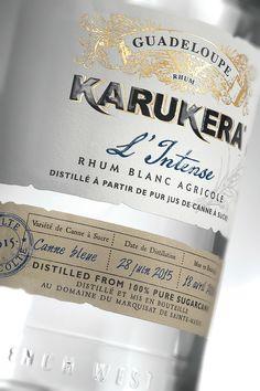 Rhum KARUKERA - L'intense on Packaging of the World - Creative Package Design Gallery