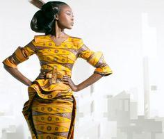 Yellow Dutch Wax Dress #ItsAllAboutAfricanFashion #AfricanPrints #kente #ankara #AfricanStyle #AfricanFashion #AfricanInspired #StyleAfrica #AfricanBeauty #AfricaInFashion