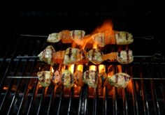 Tunisian Fire Chicken Kebabs Recipe - from Multi Cultural Cooking Network...
