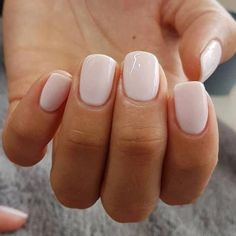 The advantage of the gel is that it allows you to enjoy your French manicure for a long time. There are four different ways to make a French manicure on gel nails. The choice depends on the experience of the nail stylist… Continue Reading → Neutral Nails, Nude Nails, White Nails, Acrylic Nails, Blush Nails, Nail Pink, White Manicure, Light Pink Nails, Pink Toes