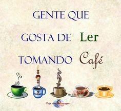 Amor por livros e café!