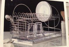 Double tier dish rack