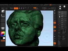"""http://www.zbrushworkshops.com A quick look at ZBrush's Nanomesh """"particle system"""" and how I use it to help me create hand-crafted generative artwork."""