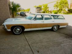 1967 Chevrolet Caprice Station Wagon. Caprice Classic, Woody Wagon, Chevrolet Caprice, Older Models, Chevrolet Impala, Station Wagon, Used Cars, Vintage Cars, Cool Cars