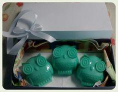 Caixa Coruja Verde