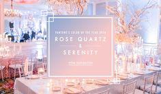 2016 Pantone Color of the Year   Article: Wedding Ideas Inspired by the 2016 Pantone Color of the Year   Photography: Arte de Vie   Read More:  http://www.insideweddings.com/news/planning-design/wedding-ideas-inspired-by-the-2016-pantone-color-of-the-year/2639/