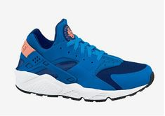 huge selection of 3bc5c 17fe6 Genuine Nike Air Huarache For Sale Cheapest Nike Air Huarache Military Blue  Obsidian Total Orange