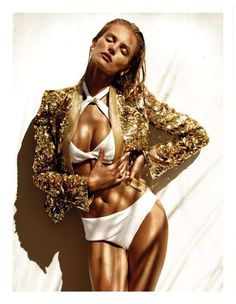 The Edita Vilkeviciute Vogue Spain Editorial is Lush and Sultry