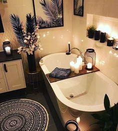 Home Interior Design - Cozy Bathroom # .- Home Interior Design – Gemütliches Badezimmer Home interior design – cozy bathroom - Home Interior Design, Tree Interior, House Interior, Cozy Bathroom, Bathtub Design, Home, Dream Bathrooms, Bathroom Design, Easy Bathroom Decorating