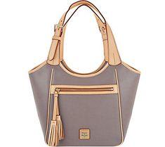 Dooney & Bourke Saffiano Leather Shoulder Bag- Maddie