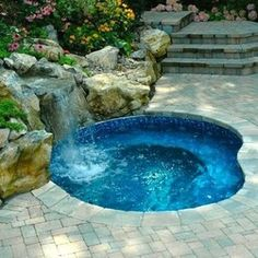 in ground jacuzzi. Above Ground Jacuzzi Swim Spa Landscape - Google Search In N