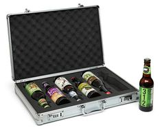 Go incognito and carry your six-pack in style with this beer briefcase. | 22 Useful Things For Anyone Who Loves Booze