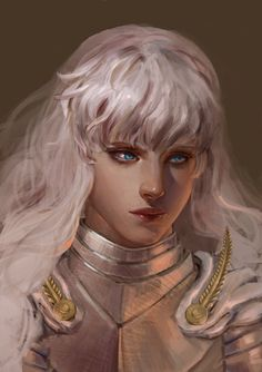 another Griffith painting~BERSERK by clareWong on deviantART
