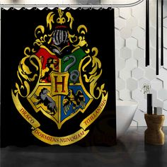 Personality Pattern Custom Harry Potter New Bathroom Decor Shower Curtain Fabric Waterproof More Size H0307@15 #Affiliate