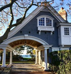 "5,704 Likes, 150 Comments - Curated by founder Linda Davis (@newenglandfineliving) on Instagram: ""Braving the cold is so worth it when you can walk past homes like this. #architecture #oceanview…"""