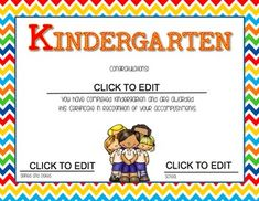 Kinder League is here to save the day! We have created End of year certificates to celebrate your Kindergarten students' accomplishments. With this FREE download you will get 8 various designs/ certificates. These certificates are editable which will allow you to add your student's names and your school info.