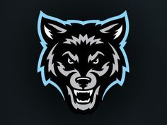 Wolfpack Soccer designed by Jason Villanti. Connect with them on Dribbble; the global community for designers and creative professionals. Dog Logo Design, Game Logo Design, Lobo Tribal, Tribal Wolf Tattoo, Top Imagem, Esports Logo, Eagle Logo, Animal Logo, Cool Logo