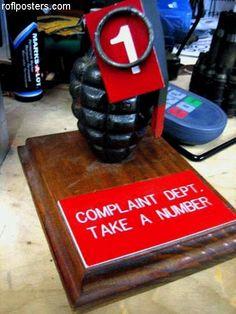 HR Complaint Department