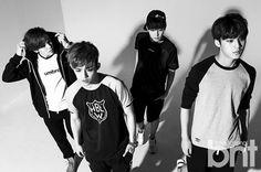 Hip-Hop Team (L to R): Vernon, S.Coups, Wonwoo, Mingyu